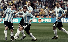 Picture sport, the game, team, players, stadiums, players, team, Argentina, walter samuel, gabriel heinze, messi, teams, …