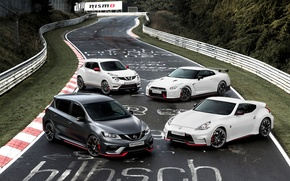 Picture photo, Road, Tuning, Nissan, GT-R, Cars, Juke, 370Z, Nismo Pulsar