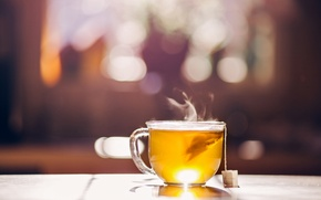 Picture background, tea, Cup