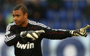 Picture goalkeeper, player, Dida, World champion-2002, Lord Nelson, Dida magalski, Brazilian