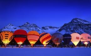 Picture Balls, Switzerland, Winter