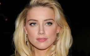 Picture girl, actress, blonde, celebrity, Amber Heard, Amber Heard