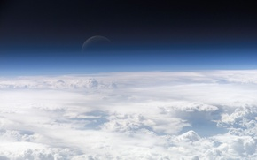 Picture planet, Clouds, the atmosphere, Space