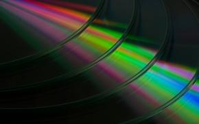 Wallpaper light, music, background, CD disk