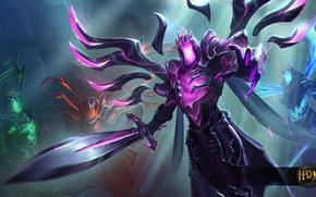Picture art, Heroes of Newerth, Angel of Death, moba, Shadowblade