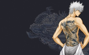 Picture tattoo, Gintama, Gintama, Gintoki, Gintoki
