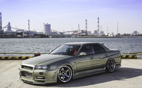Wallpaper nissan, turbo, skyline, jdm, tuning, r34, nismo