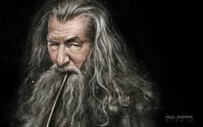 Picture art, The Lord of the rings, The Lord of the Rings, the wizard, Gandalf, Gandalf, …