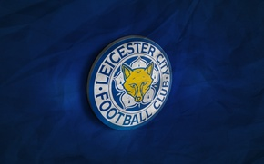 Picture wallpaper, sport, football, Premier League, England, 3D logo, Leicester City