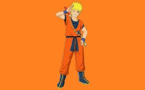 Picture game, naruto, anime, orange, crossover, ninja, hero, asian, manga, shinobi, japanese, Son Goku, Uzumaki Naruto, …