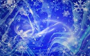 Wallpaper Snow, Snowflakes, Texture