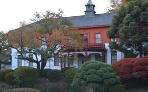 Picture Autumn, Japan, Japan, Autumn, Medical School, Medical school
