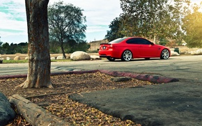 Picture BMW, BMW, red, e92, The 3 series