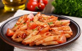 Picture mushrooms, food, tomato, food, mushrooms, pasta, tomato, pasta