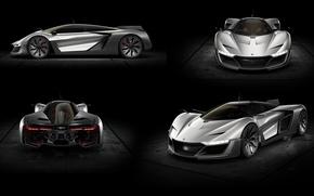 Wallpaper Concept, the concept, supercar, Aero GT, Bell & Ross