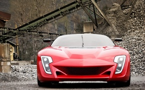 Picture supercar, Bertone, Mantide