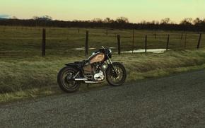 Picture Yamaha, road, bike, nature, motorcycle, custom, cruiser, vehicle, motorbike, transport, Virago 750, Yamaha xv750 virago, …
