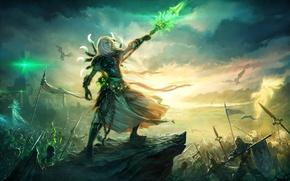 Wallpaper commander, Heroes of Might & Magic 6, necromancer, undead, Heroes of might and Magic 6, ...