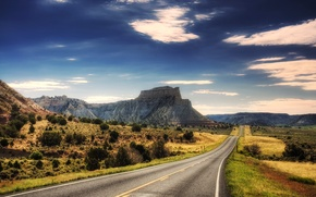 Picture mountain, road, the way, mountains, landscapes