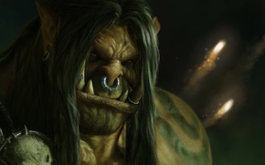 Picture World of Warcraft, wow, warlords of draenor, Grommash Hellscream