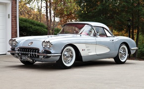 Picture Corvette, Chevrolet, 1960, Chevrolet, Corvette