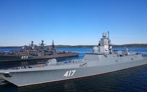 "Picture Navy, Frigate, Navy, patrol ship, ""Admiral Gorshkov"", Severomorsk"