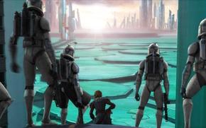 Picture clones, Republic, animated series, Star Wars: the clone wars, Star wars: the clone wars, Aanakin …