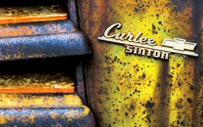 Picture metal, background, rust