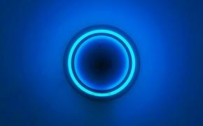 Picture world, calm, blue light