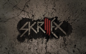 Picture dubstep, logo, Skrillex, music