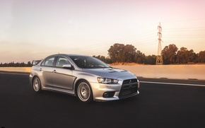 Picture turbo, mitsubishi, japan, jdm, tuning, lancer, evolution, evo, front, speed, face, low, stance