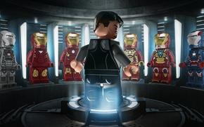 Picture toys, LEGO, heroes, figures, Lego, Iron man 3, Iron man 3, Marvel superheroes