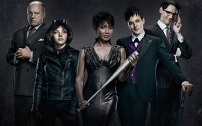 Picture Gotham, Fish Mooney, The good, Jada Pinkett Smith, The beginning, Oswald Cobblepot, 2014, The evil, ...