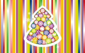 Picture snowflakes, strip, background, holiday, toys, New Year, color, herringbone, New Year, Holiday