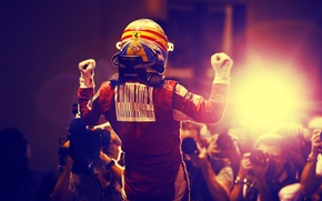 Wallpaper singapore, victory, fernando alonso, ferrari, formula1, 2010, spain, spanish, formula one, alonso