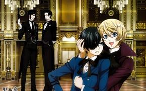 Picture kuroshitsuji, Ciel, Sebastian, Dark Butler