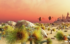 Picture stones, planet, plants, station, the atmosphere, this is not mars