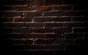 Picture dark, brick, texture