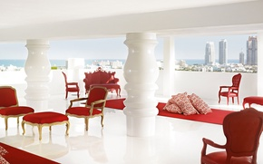 Picture design, style, interior, Miami, the hotel, the room