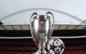 Picture The ball, Football, Adidas, Adidas, Ball, Football, Stadium, Stadium, Champions League, Champions League, Wembley, Wembley