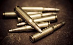 Picture copper, bullets, bullets