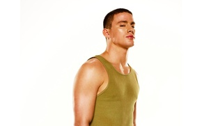 Wallpaper look, Channing Tatum, Step Up, Step forward, actor, Mike, white background, photoshoot, Channing Tatum