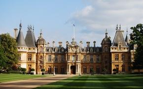 Picture England, palace, Buckinghamshire, Waddesdon Manor, manor house, the Rothschild taste