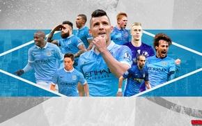 Wallpaper Otamendi, Yaya Toure, Can happen, Manchester City, Nasri, De Bruyne, Zabaleta, Hart, Silva, Manchester City, ...