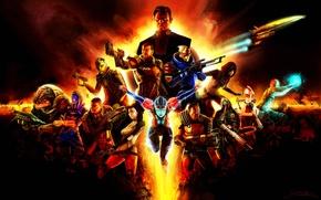 Wallpaper jack, Mass Effect, Shepard