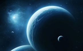 Picture space, planet, space