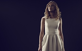 Picture background, the film, makeup, dress, hairstyle, blonde, in white, Vampire Academy, Vampire Academy, Lucy Fry, …
