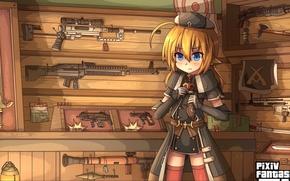 Picture girl, sword, gun, pistol, game, weapon, anime, katana, machete, sniper, flag, asian, shotgun, Wesson, rifle, …