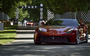 Picture Ferrari, Red, F12, TRS