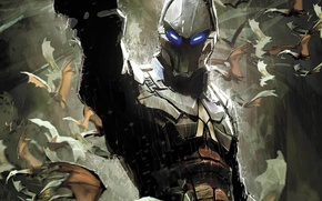 Picture Comic, DC Comics, Batman: Arkham Knight, Arkham Knight, Batman: Arkham Knight - Genesis